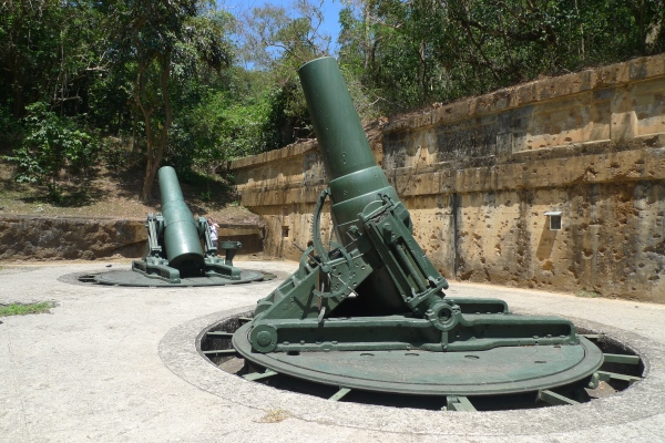 Battery Way in Corregidor