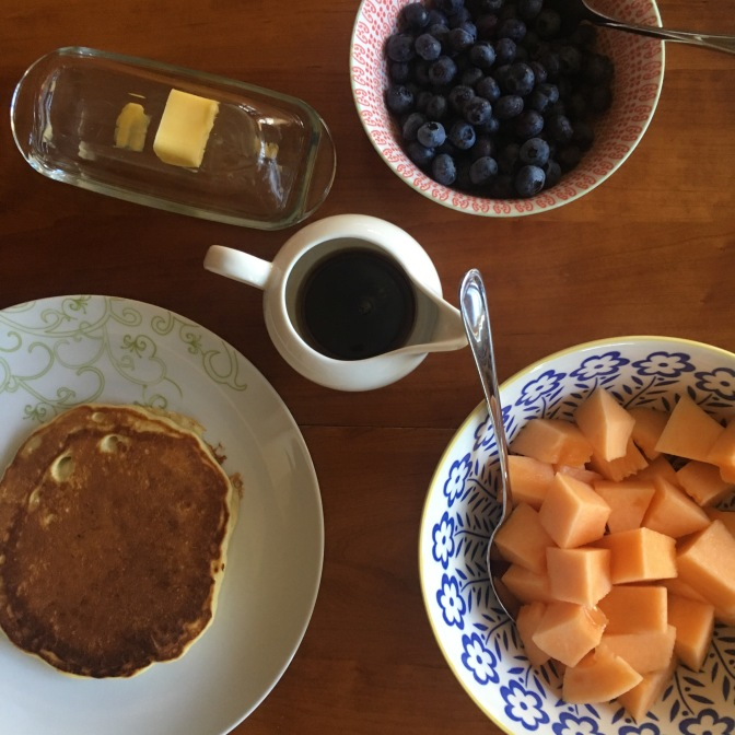 Homemade Pancakes and Waffles: A Renewal of Family Ties