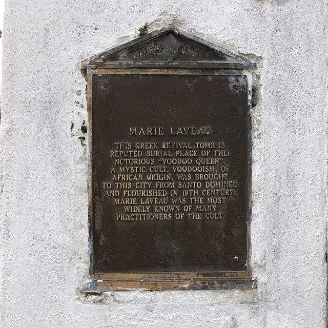 MarieLaveauPlaque